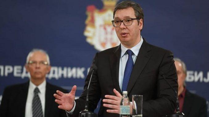 Vučić: Zabrana izvoza dezinfekcionih sredstava i toalet papira 1