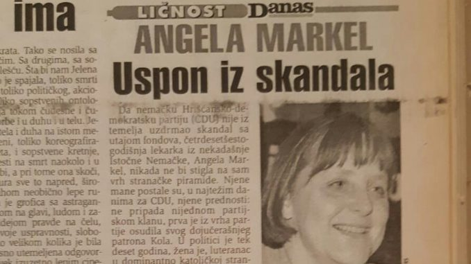 Kako je počeo uspon Angele Merkel pre 20 godina? 2