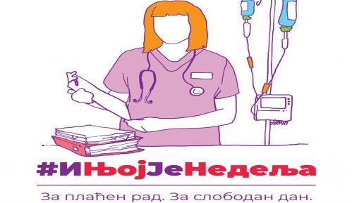 Ne davimo Beograd povodom 8. marta protiv rada žena i nedeljom 12