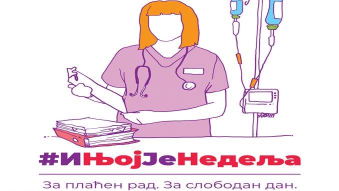 Ne davimo Beograd povodom 8. marta protiv rada žena i nedeljom 1