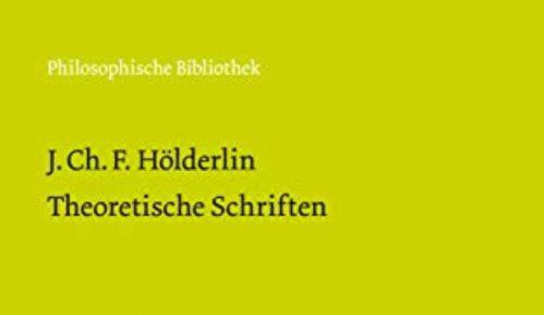 Helderlinovi teorijski spisi 11