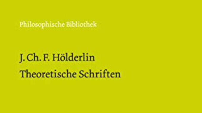 Helderlinovi teorijski spisi 1