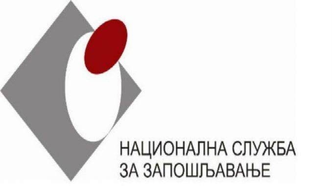 Nacionalna služba za zapošljavanje registrovala 258 lica koja traže posao 2