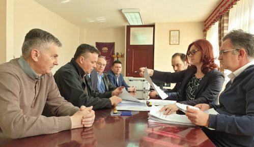 Koalicija Zdrava Srbija, DSS i PUPS predala odborničku listu u Čajetini 2