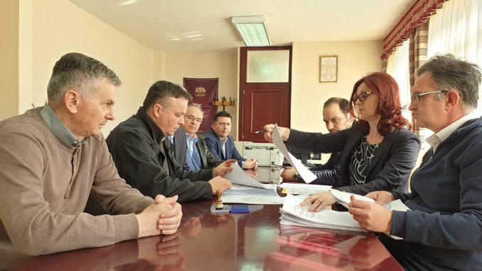 Koalicija Zdrava Srbija, DSS i PUPS predala odborničku listu u Čajetini 1