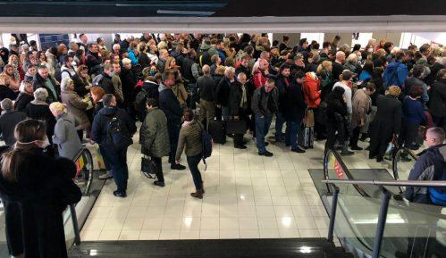 Ogromne gužve na kontroli pasoša aerodroma Nikola Tesla 15