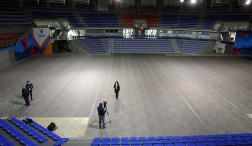 """U hali Čair postavljena """"prva srpska kabina za dezinfekciju celog tela"""" 10"""