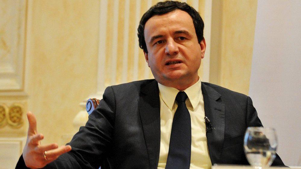 Kurti: Ilegalna vlada ne sme da se suoči sa Srbijom 1