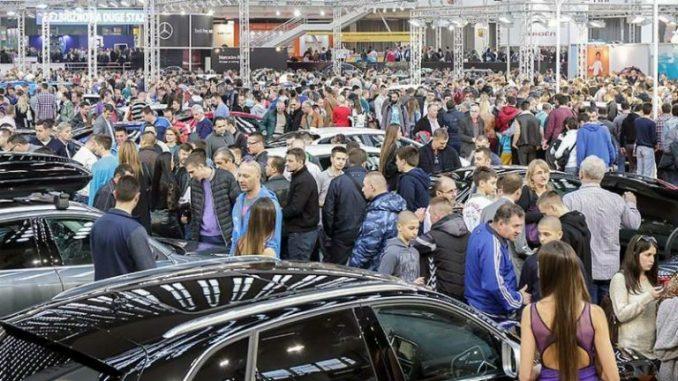 Sajam automobila i motocikala u Beogradu od 19. do 25. marta 2