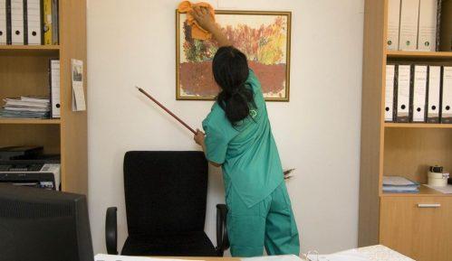 Priprema radnog prostora za borbu sa korona virusom 8