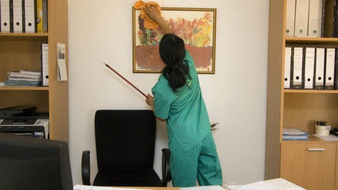 Priprema radnog prostora za borbu sa korona virusom 2