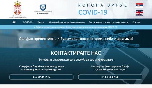 Napad na covid19.rs i sajt Ministarstva zdravlja 2