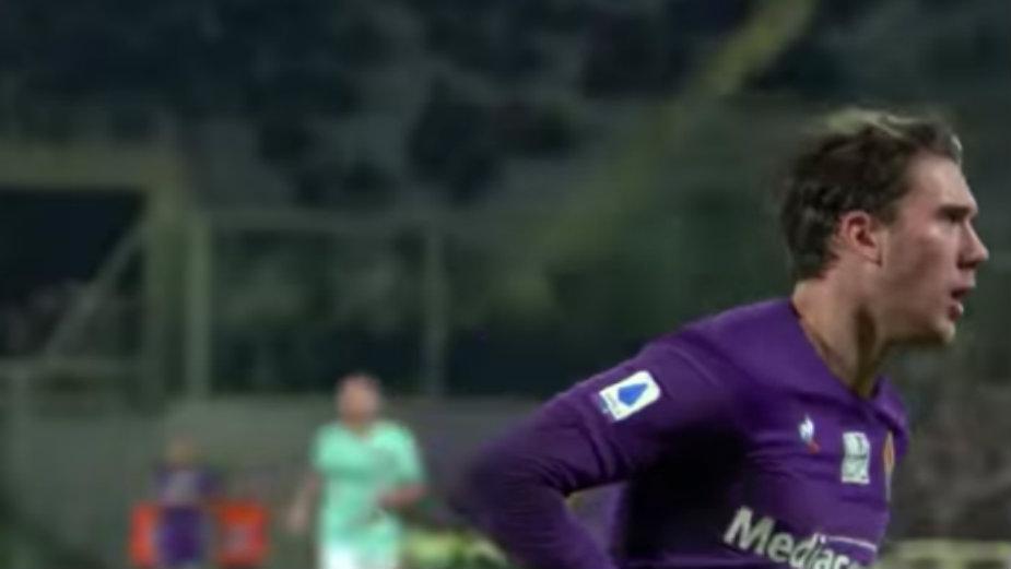 Vlahović u pripremnoj utakmici postigao sedam golova za jedno poluvreme 1