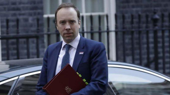 Posle premijera Džonsona i britanski ministar zdravlja pozitivan na korona virus 2