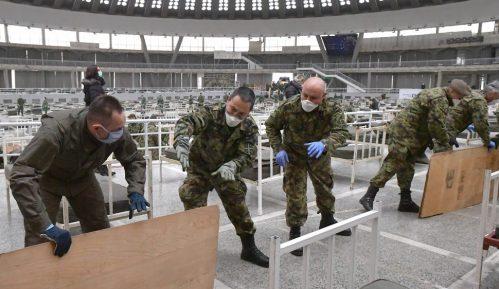 Vulin na Beogradskom sajmu: Vojska sprema 3.000 kreveta za zaražene 10