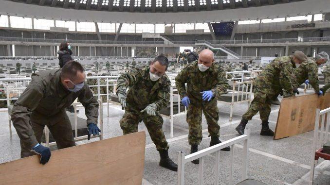 Ministarstvo: Tokom vanrednog stanja vojska iz svojih zaliha pripremila za smeštaj 6.040 kreveta 3
