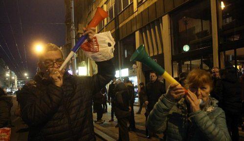 Protest Građanskog otpora:  Fudbalska utakmica naroda protiv mafije 14