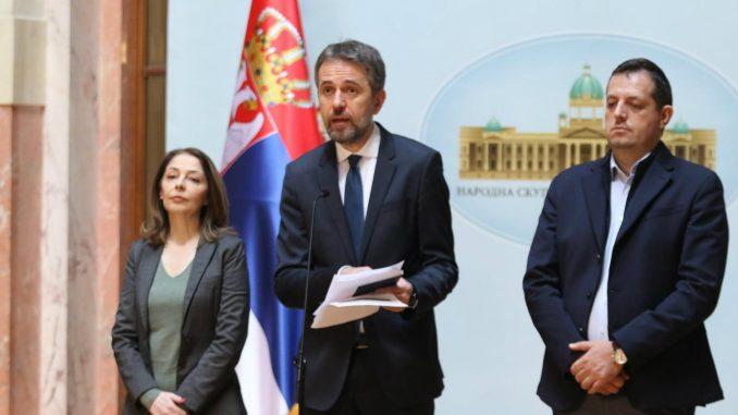 """Poslanici """"Dosta je bilo"""" traže prijem kod Maje Gojković 2"""