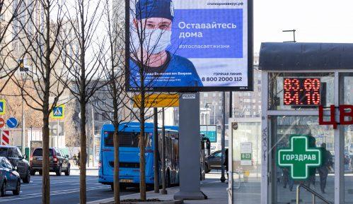 U Rusiji 500 novih slučajeva korona virusa, umrlo 17 osoba 2