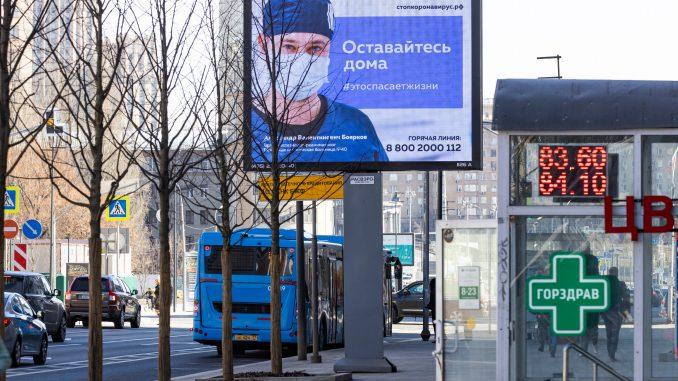 Ponovo rekordan broj umrlih u Rusiji od korona virusa u jednom danu 1
