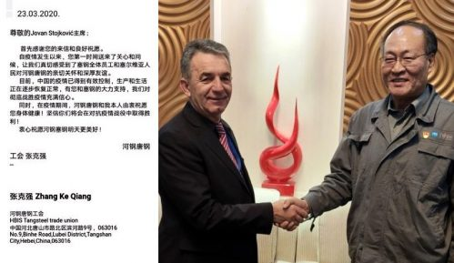 Pismo predsednika kineskog sindikata HBIS-a zaposlenima u HBIS Serbia 11