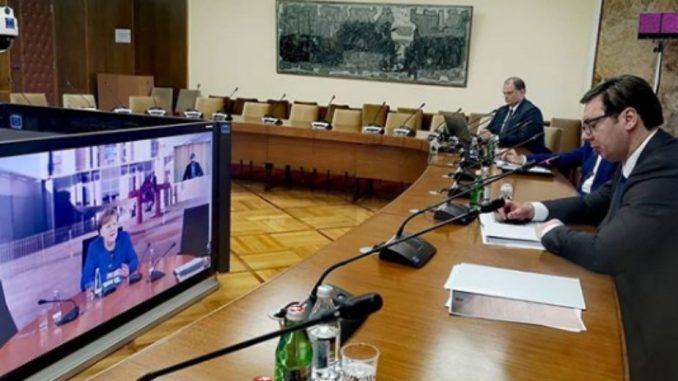 Vučić i Merkelova razgovarali o suzbijanju korona virusa 2