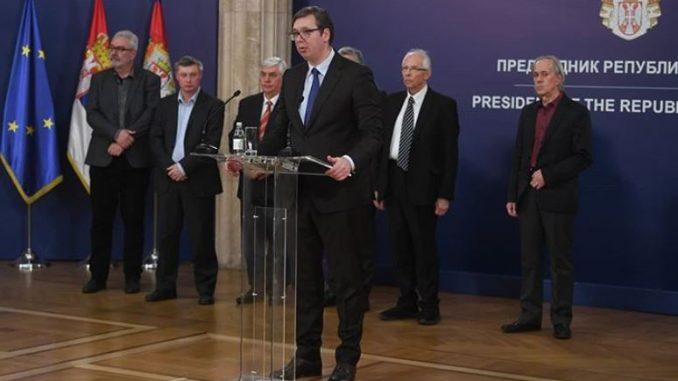 Vučić: Zabranjeni skupovi u zatvorenom prostoru 1