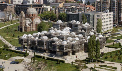 Biblioteka u Prištini: Građevina iz udaljene galaksije (VIDEO) 9