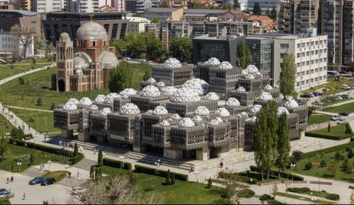 Biblioteka u Prištini: Građevina iz udaljene galaksije (VIDEO) 8