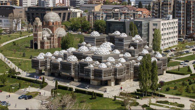 Biblioteka u Prištini: Građevina iz udaljene galaksije (VIDEO) 1