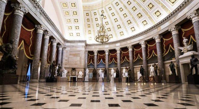 Otkazana sednica zbog mogućeg upada u zgradu Kongresa 1