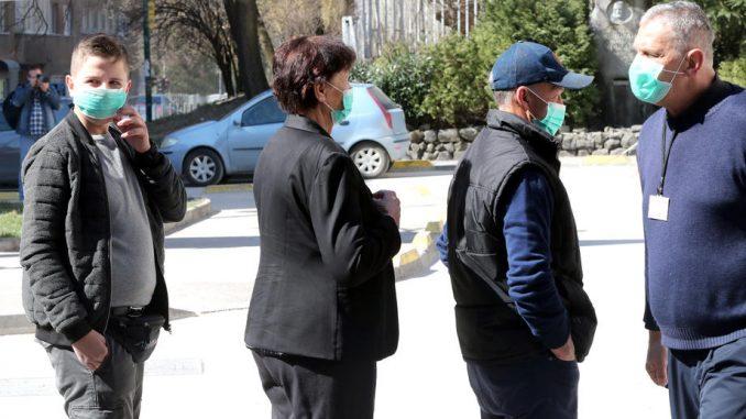 Korona virusom u BiH zaraženo 667 osoba, 26 osoba umrlo 2