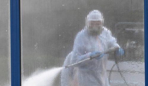 U Novom Sadu dezinfekcija raskrsnica i trotoara 15
