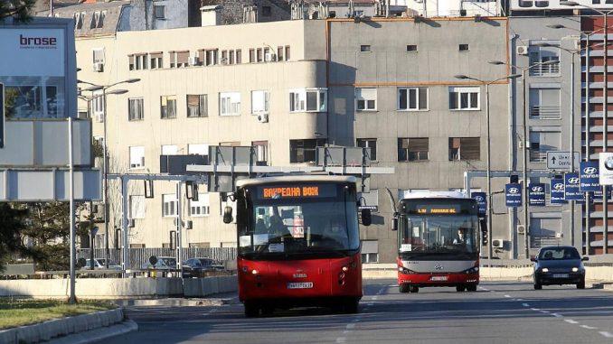 Pojačane linije gradskog prevoza 1