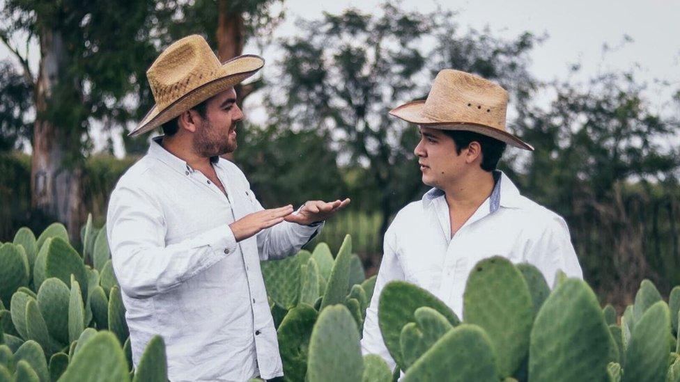 Adrian Lopez Velarde and Marte Cazarez