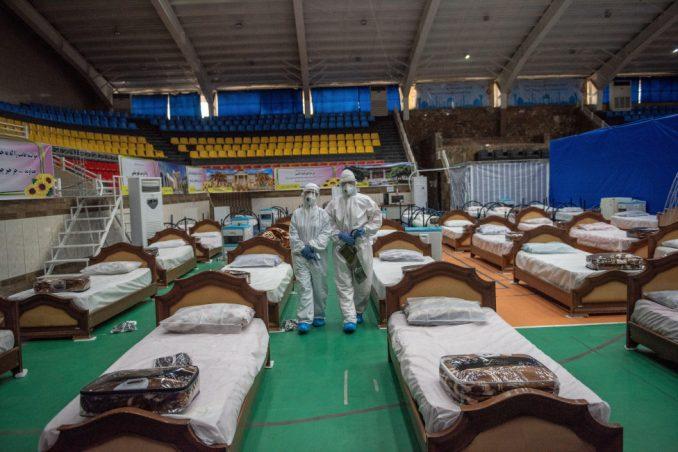 Korona virus: Lečenje u poljskim bolnicama širom sveta u fotografijama 2