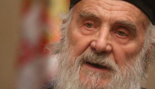 Patrijarh Irinej održao liturgiju bez prisustva vernika 6