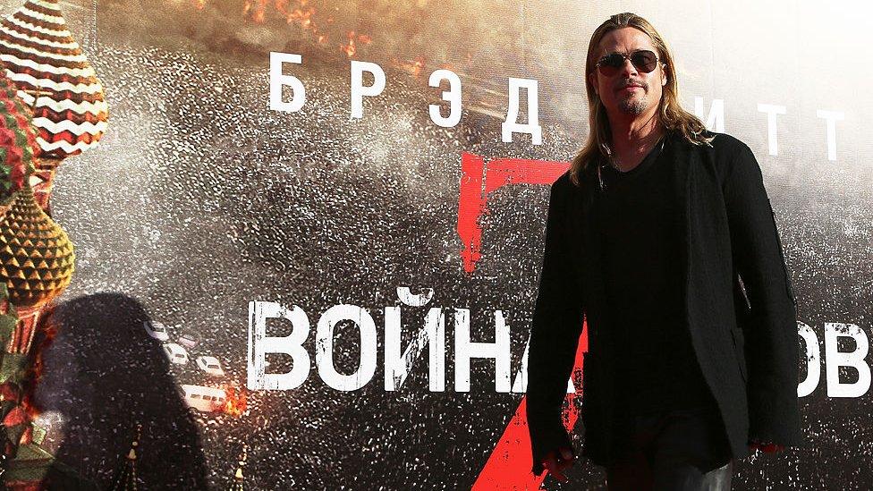 Brad Pitt starred in World War Z