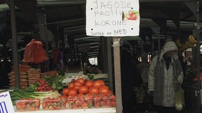 Korona virus, pijace i internet: Kako hrana stiže do vas u doba epidemije u Srbiji 2