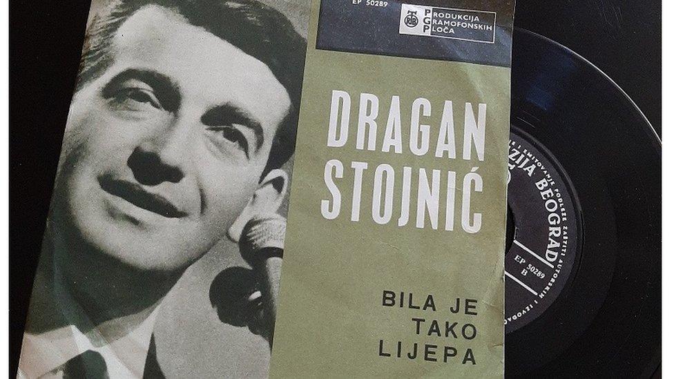 """Ploča Dragana Stojnića """"Bila je tako lijepa"""""""