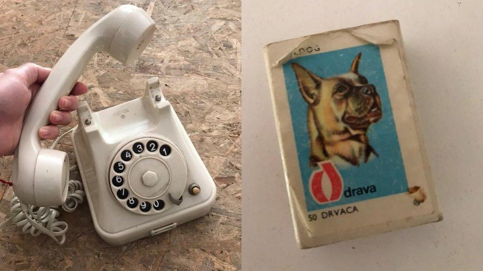 telefon i šibice