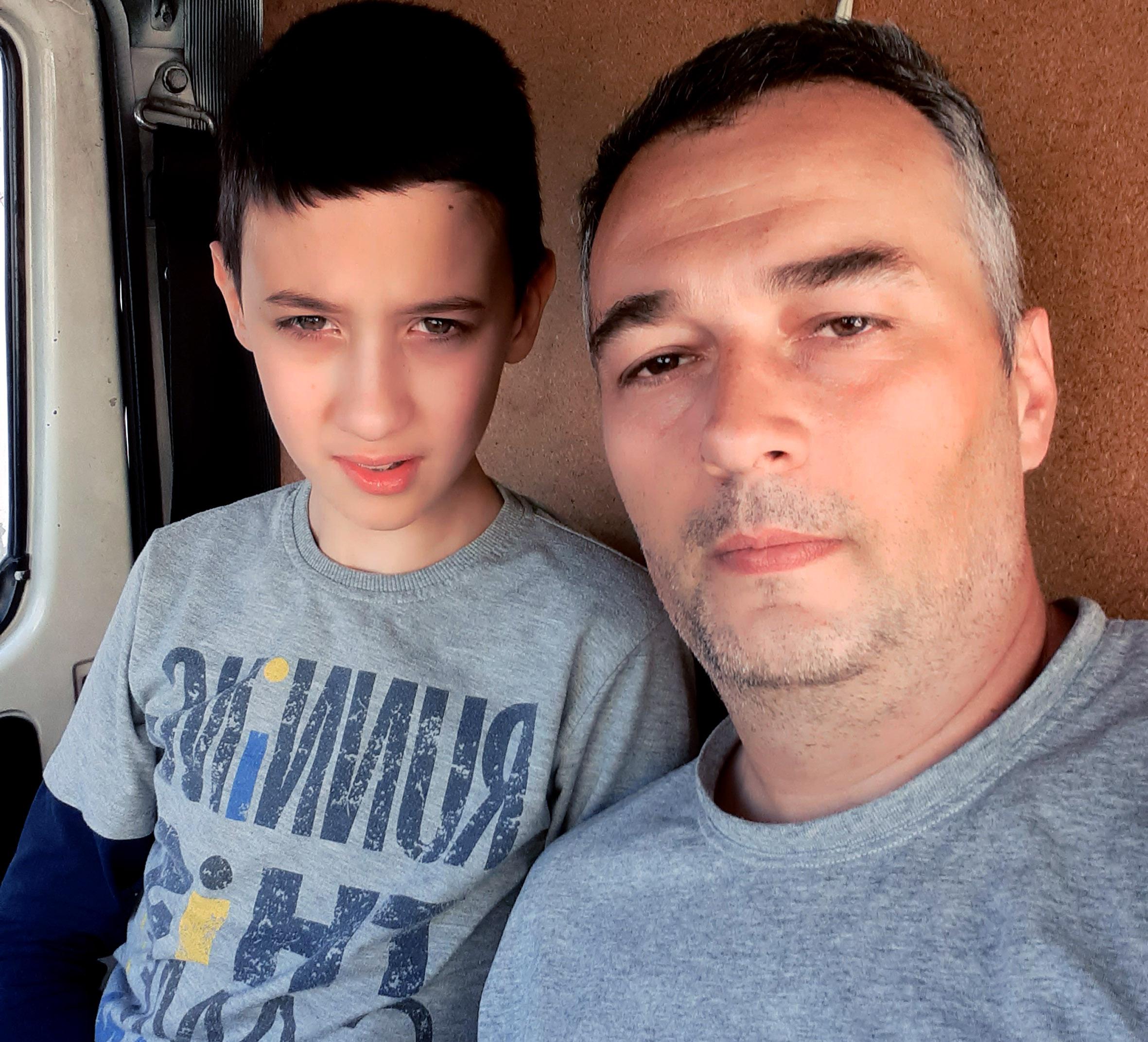 saša sa sinom