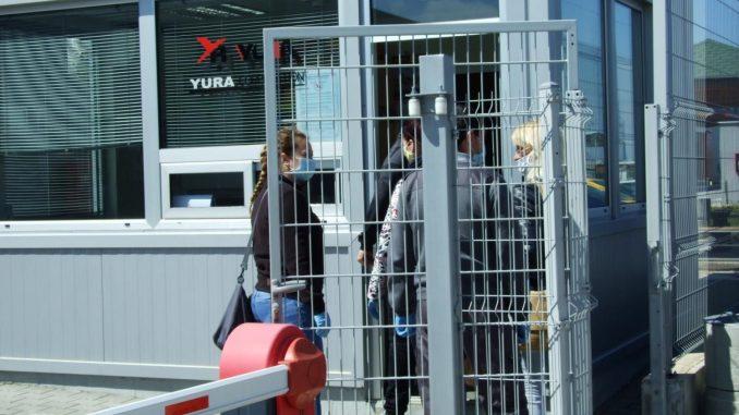 Radnici Jure zbog korone odbijaju da uđu u fabriku 3