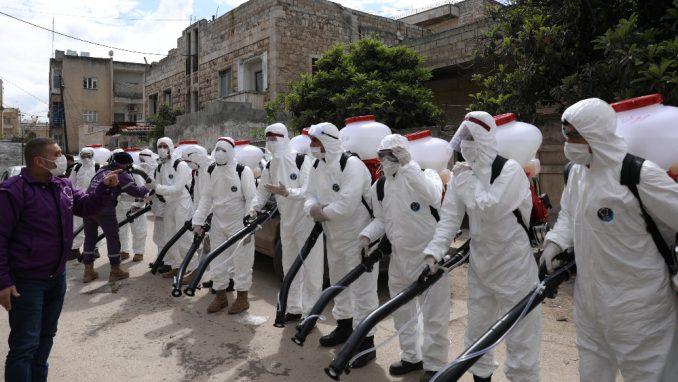 Raseljeni Sirijci sada beže od virusa 3