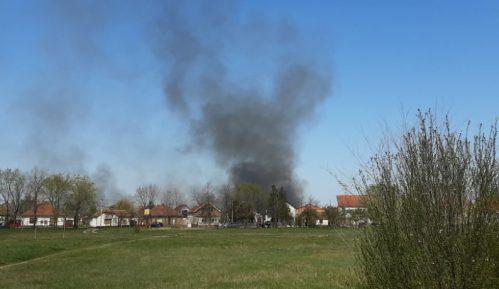 Ugašen požar u Zrenjaninu 7
