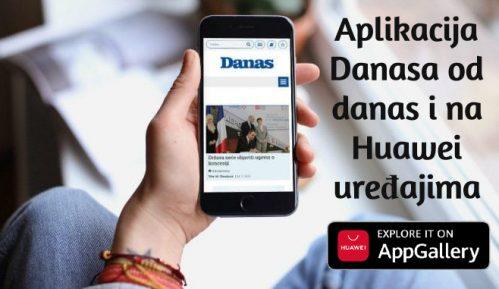Aplikacija Danasa od danas i na Huawei uređajima 4