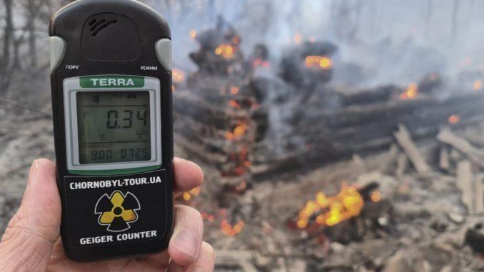 Ugašeni požari u blizini nuklearne elektrane Černobilj 4