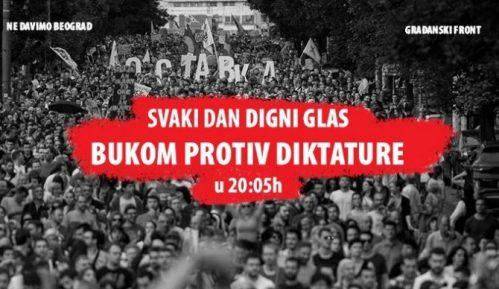 "I večeras nastavljena akcija ""Bukom protiv diktature"" (VIDEO) 13"