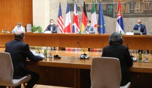 Brnabić na sastanku sa ambasadorima Kvinte o saradnji i pandemiji korona virusa 12