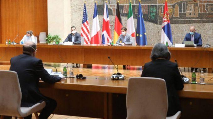 Brnabić na sastanku sa ambasadorima Kvinte o saradnji i pandemiji korona virusa 3